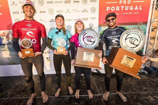 Finalistas (Damien Poullenot / WSL via Getty Images)
