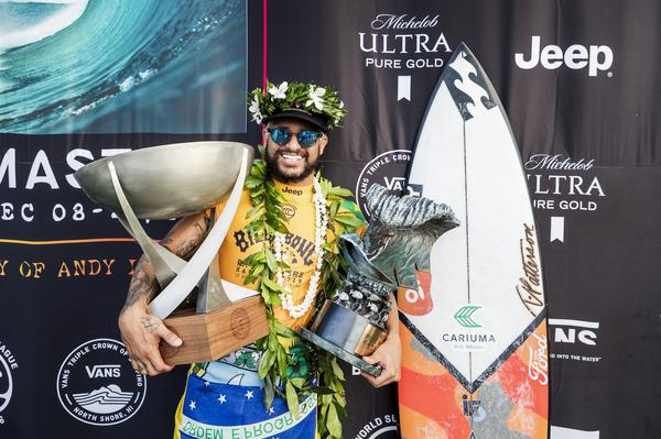 Campeão mundial (Kelly Cestari / WSL via Getty Images)